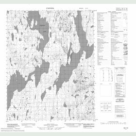 Canadian Topo Map - Map 056I10