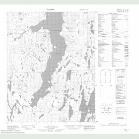 Canadian Topo Map - Map 056I11