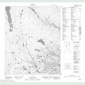 Canadian Topo Map - Map 056J02