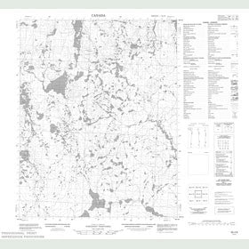 Canadian Topo Map - Map 056J09