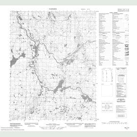 Canadian Topo Map - Map 056J14
