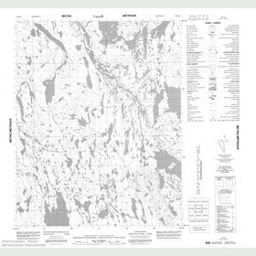 Canadian Topo Map - Map 056K06