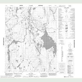 Canadian Topo Map - Map 056K09