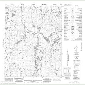 Canadian Topo Map - Map 056L06