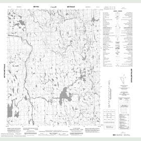 Canadian Topo Map - Map 056L11