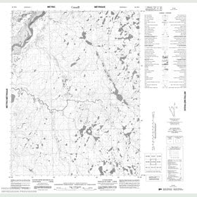 Canadian Topo Map - Map 056M02