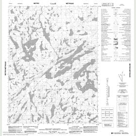Canadian Topo Map - Map 056M10