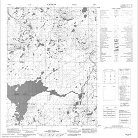 Canadian Topo Map - Map 056N16