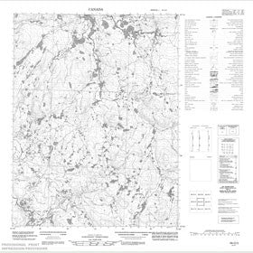 Canadian Topo Map - Map 056O03