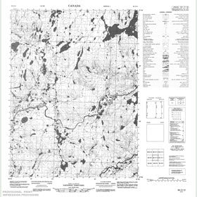 Canadian Topo Map - Map 056O12