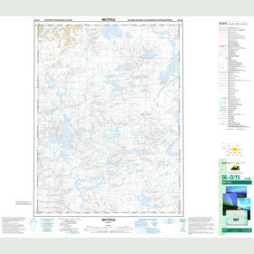 Canadian Topo Map - Map 056O15