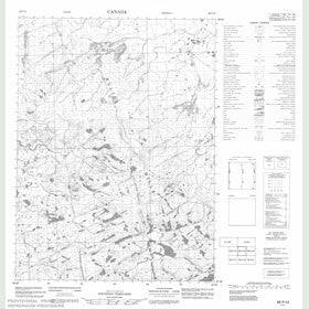 Canadian Topo Map - Map 056P15