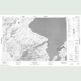 Canadian Topo Map - De Stael Point - Map 057A06