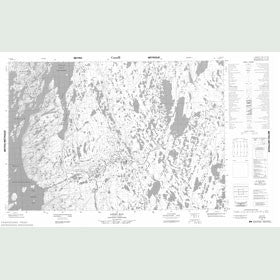 Canadian Topo Map - Login Bay - Map 057A10