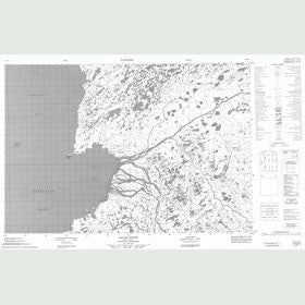 Canadian Topo Map - Acland Point - Map 057B10