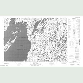 Canadian Topo Map - Kate Hill - Map 057B15