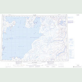 Canadian Topo Map - Rae Strait - Map 057B
