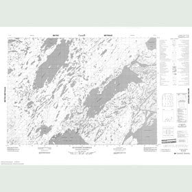 Canadian Topo Map - Stanners Harbour - Map 057C10