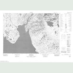 Canadian Topo Map - Artists Bay - Map 057C11