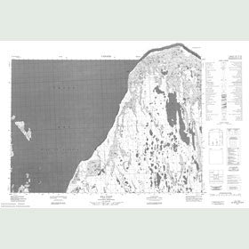 Canadian Topo Map - Hill Point - Map 057D02
