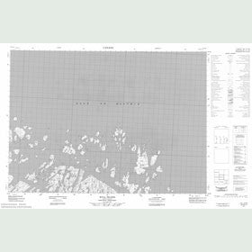 Canadian Topo Map - Kull Island - Map 057D11