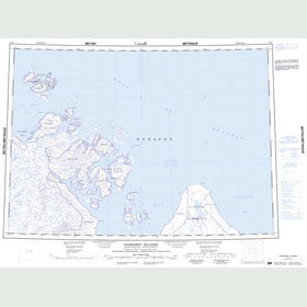 Canadian Topo Map - Harrison Islands - Map 057D