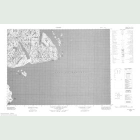 Canadian Topo Map - Coutts Lindsay Island - Map 057E04