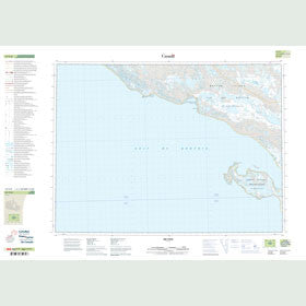 Canadian Topo Map - Map 057E08