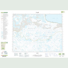 Canadian Topo Map - Map 057E16