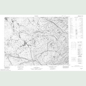 Canadian Topo Map - Map 057F10
