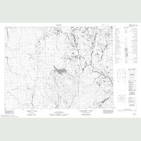 Canadian Topo Map - Map 057F11