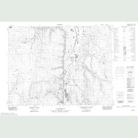 Canadian Topo Map - Map 057F13
