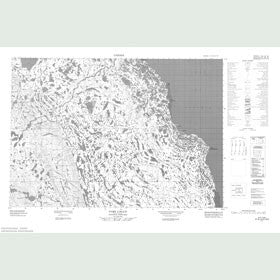 Canadian Topo Map - Port Logan - Map 057G07
