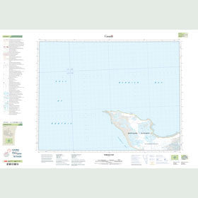 Canadian Topo Map - Thiboult Bay - Map 057H02