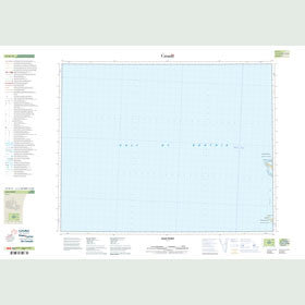 Canadian Topo Map - Leah Point - Map 057H11