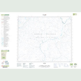 Canadian Topo Map - Map 058A09