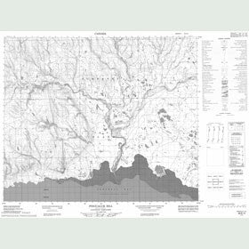 Canadian Topo Map - Pingualuk Hill - Map 058B15