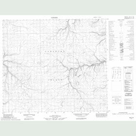 Canadian Topo Map - Map 058C10