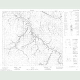 Canadian Topo Map - Map 058C15