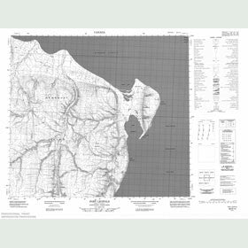 Canadian Topo Map - Port Leopold - Map 058D14