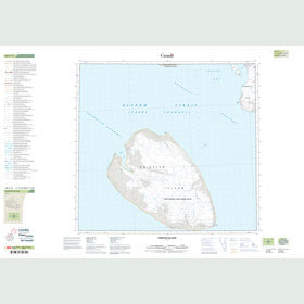 Canadian Topo Map - Griffith Island - Map 058F12