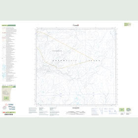 Canadian Topo Map - Bacon River - Map 058F14