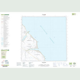 Canadian Topo Map - Helen Haven - Map 058G07
