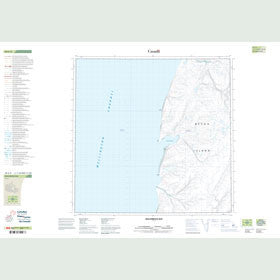 Canadian Topo Map - Macormick Bay - Map 058G08