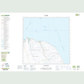 Canadian Topo Map - Maury Channel - Map 058G11