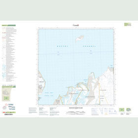 Canadian Topo Map - Houston Stewart Island - Map 058G12