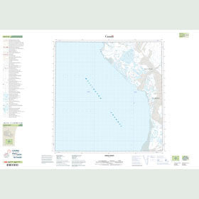 Canadian Topo Map - Owen Point - Map 058G16