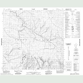 Canadian Topo Map - Map 058H03