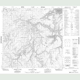 Canadian Topo Map - Haughton Dome - Map 058H07