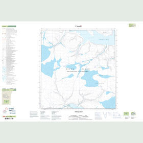 Canadian Topo Map - Norfolk Inlet - Map 059A05